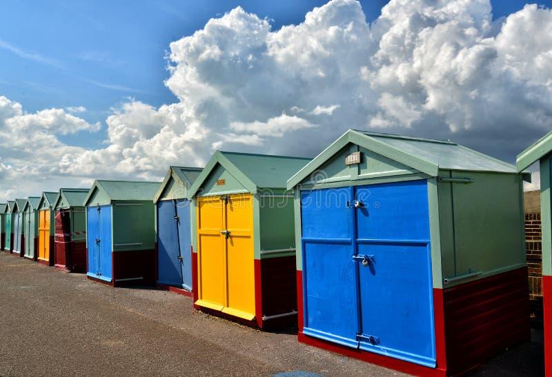 Beach Huts. Brighton. UK royalty free stock photos