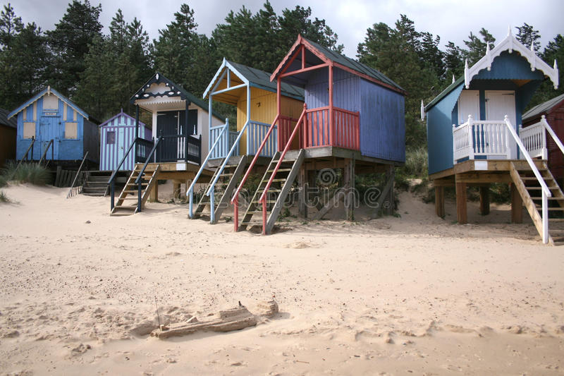 Download Beach Huts At Wells-next-the-Sea Stock Photo - Image: 18759944