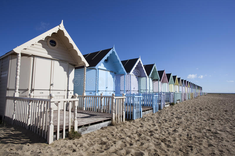 Download Beach Huts, West Mersea, Essex, England Stock Photo - Image: 26794648