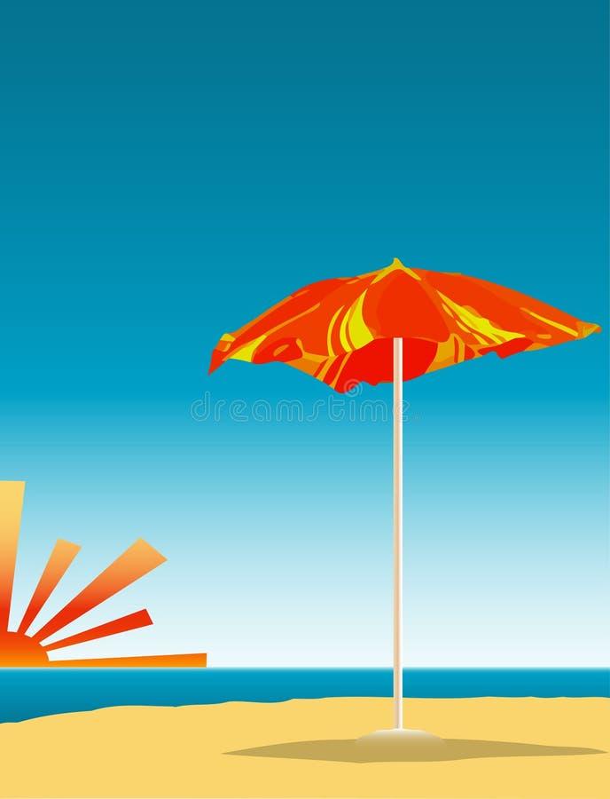 Download Beach illustration stock vector. Illustration of resort - 4352493