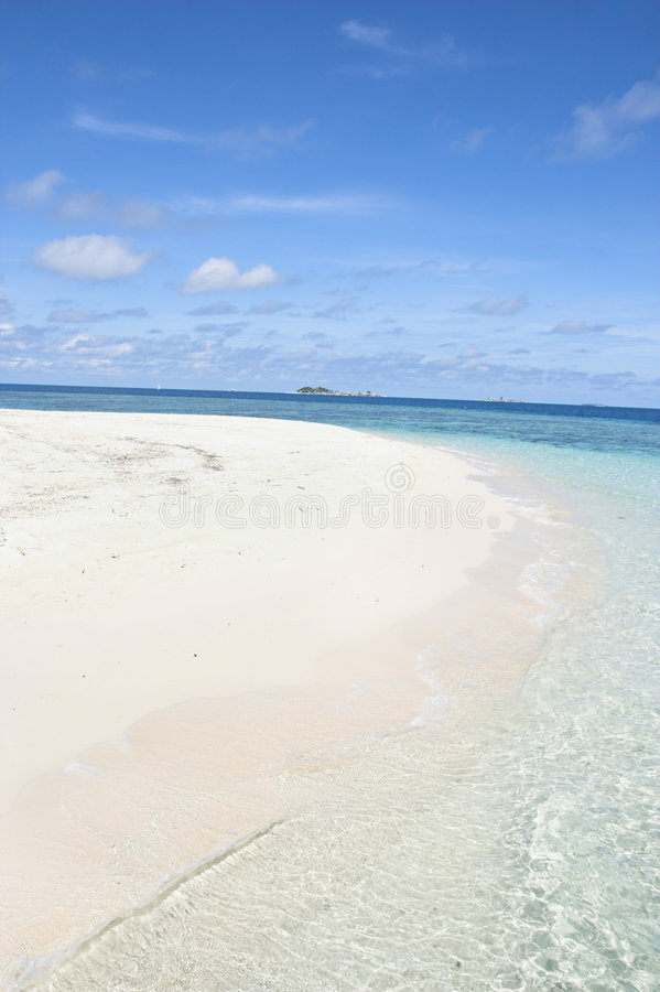 Download Beach Inside Of The Island Royalty Free Stock Image - Image: 7038866