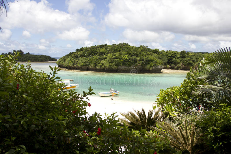 Beach of Ishigaki , Okinawa ,Japan royalty free stock photos