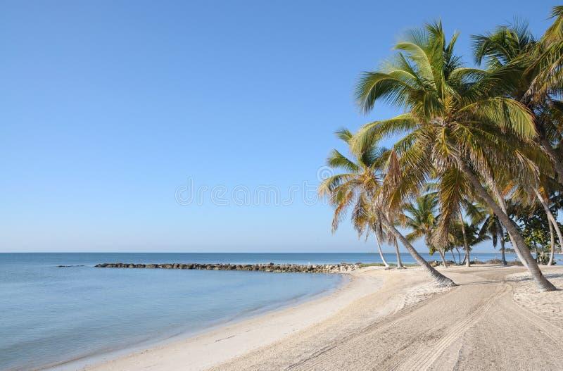 Beach on Key West, Florida royalty free stock photo