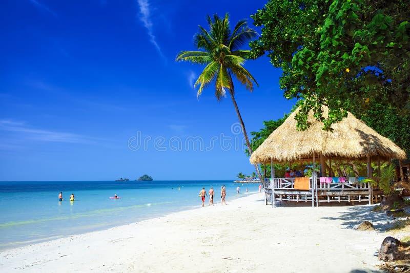 Beach on Koh Chang island. Kai bae beach on koh chang island, Thailand royalty free stock photography