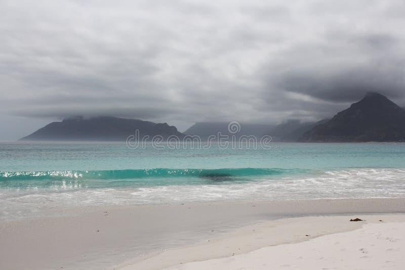 Beach of Kommetjie stock images