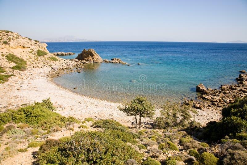 Beach, Kos,Greece royalty free stock image
