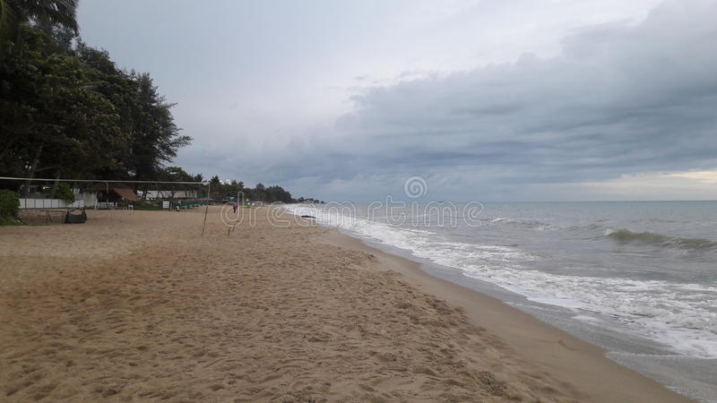 Beach Lammapim Rayong stock photography