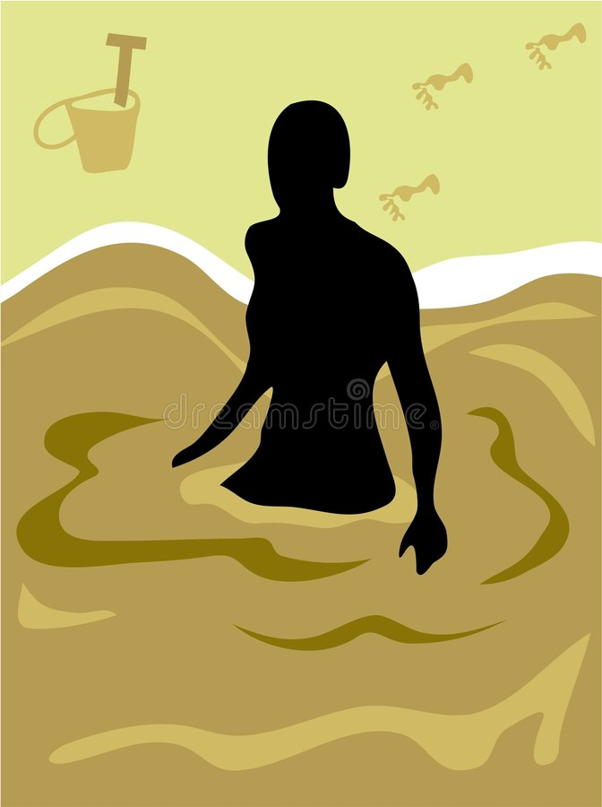 Download Beach Life stock vector. Illustration of seascape, adult - 129645