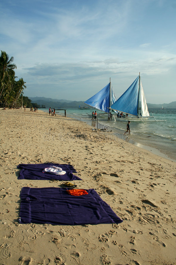 Download Beach Life Boracay Island Philippines Stock Image - Image of resort, beach: 1711757