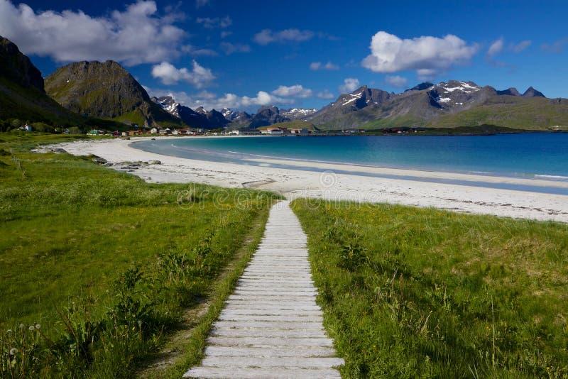 Download Beach on Lofoten stock photo. Image of places, scandinavia - 26836694