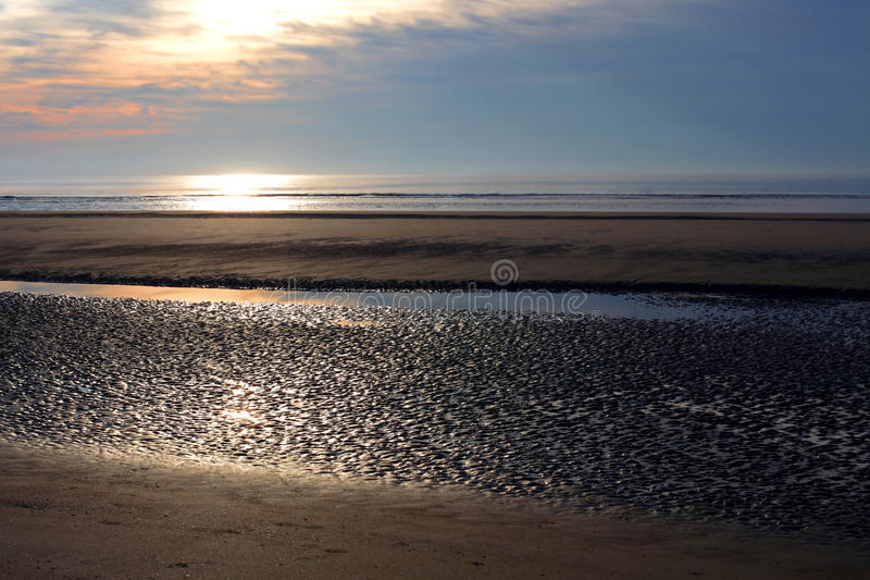Download Beach at low tide stock photo. Image of ocean, beautiful - 26257456