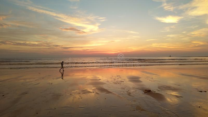 Beach madh royalty free stock images