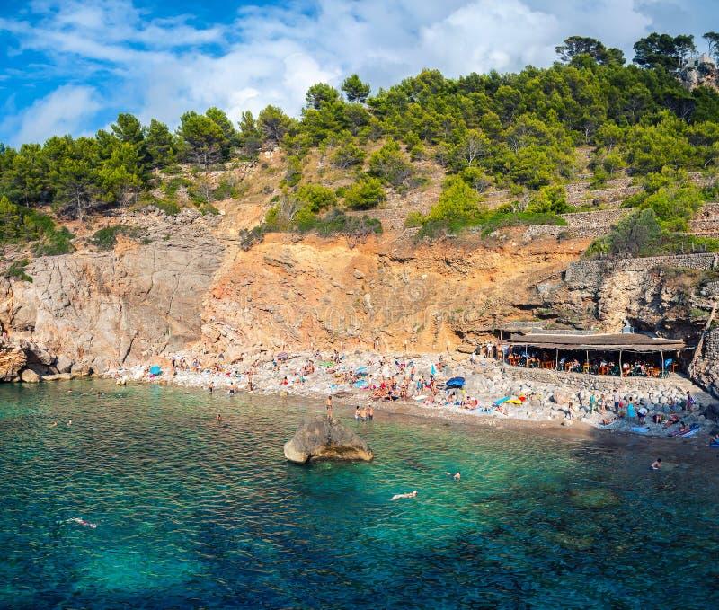 Island Beach Scenes: Majorca Island Beach Scene Editorial Stock Image. Image Of