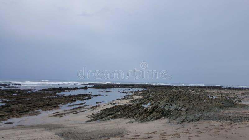 Beach `Mal país` royalty free stock photo