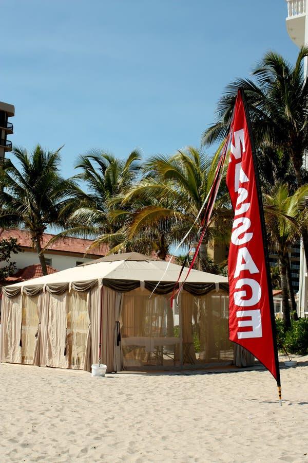 Download Beach Massage Hut Royalty Free Stock Photo - Image: 8370245