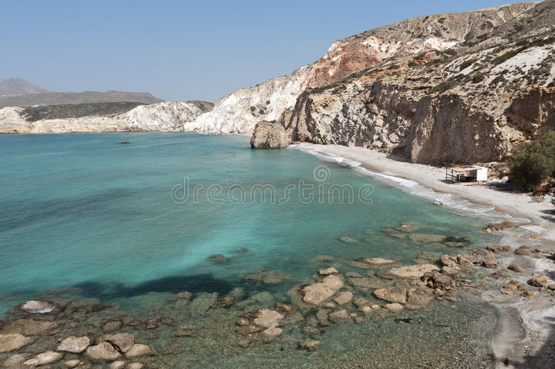 Download Beach At Milos Island In Greece Stock Image - Image: 31276911