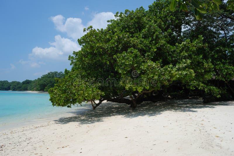 Beach at Moyyan stock photo