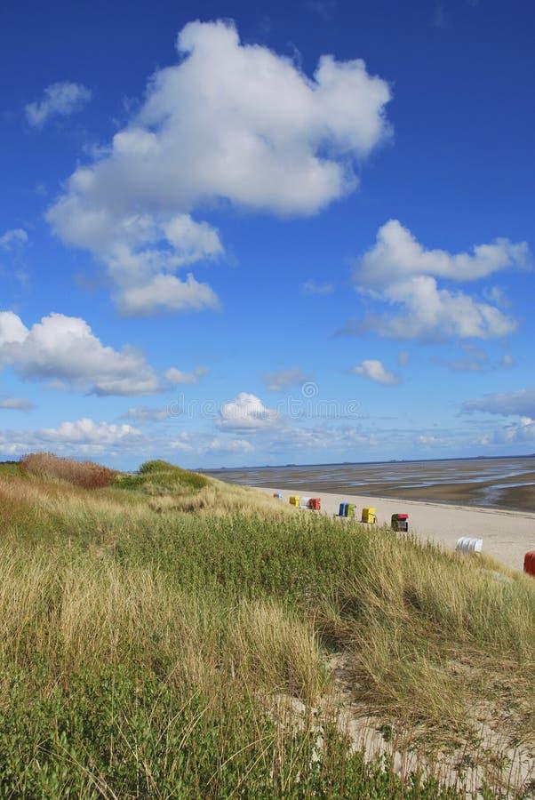 Beach And Mud Flats Stock Image