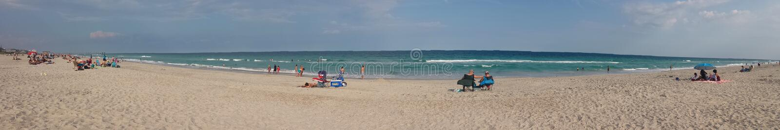 Beach in NC. Wrightsville beach in Wilmington North Carolina stock images
