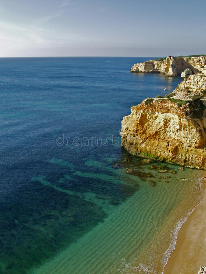 Download Beach Near Carvoeiro, Algarve, Portugal. Stock Image - Image: 45958535