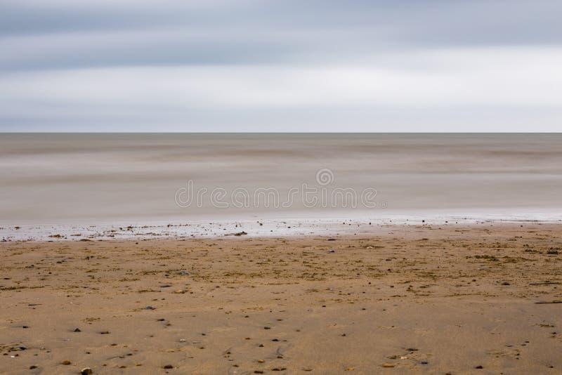 Beach near Pevensey Bay royalty free stock photography