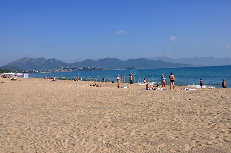 Download Beach In Nha Trang,Vietnam Editorial Photography - Image: 35429262