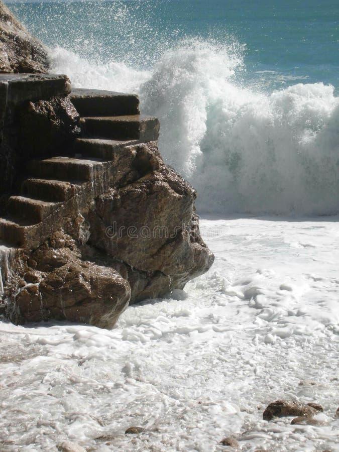 Beach nice & x28;côte d& x27;Azur& x29; royalty free stock images