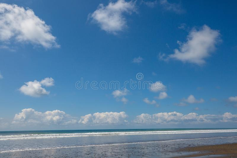 Ocean. Beach on the ocean coast stock photos