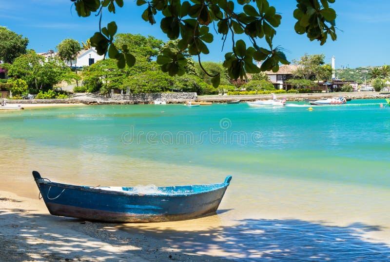Beach of Ossos in Buzios, Rio de Janeiro royalty free stock photos