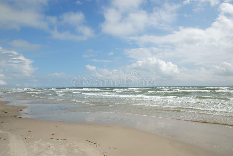 Beach On Padre Island, TX USA Royalty Free Stock Photography