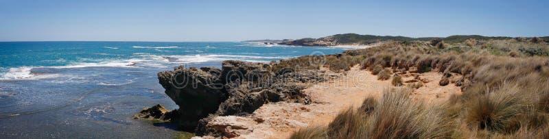 Beach Panorama stock photography