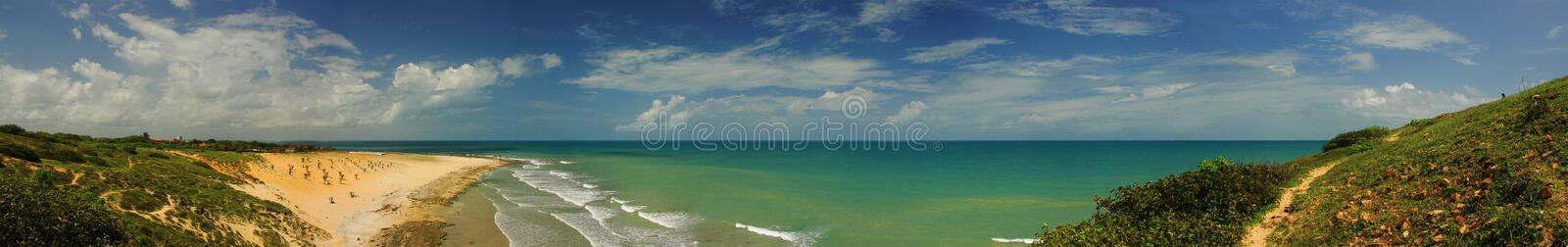 Download Beach Panoramic stock image. Image of wave, travel, destination - 5039455