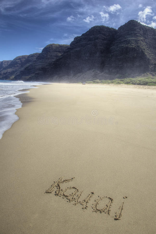 Download Beach in paradise stock image. Image of pali, kauai, beautiful - 27389097