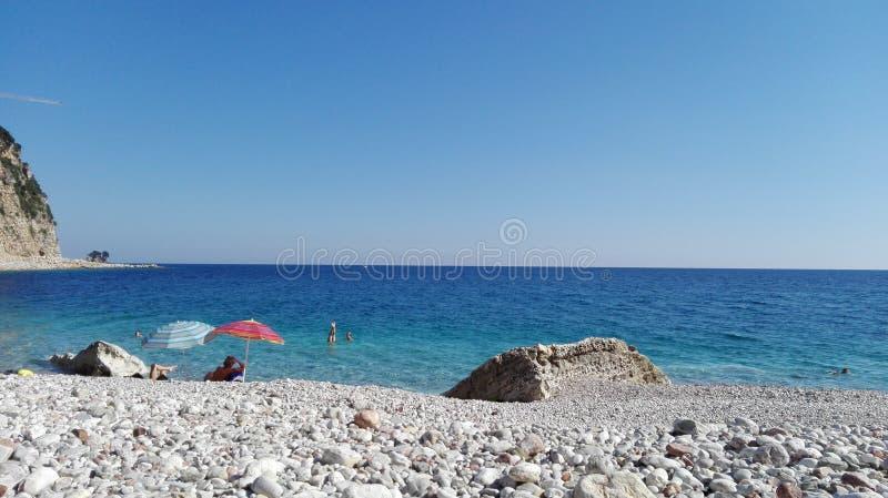 Beach paradise royalty free stock photo