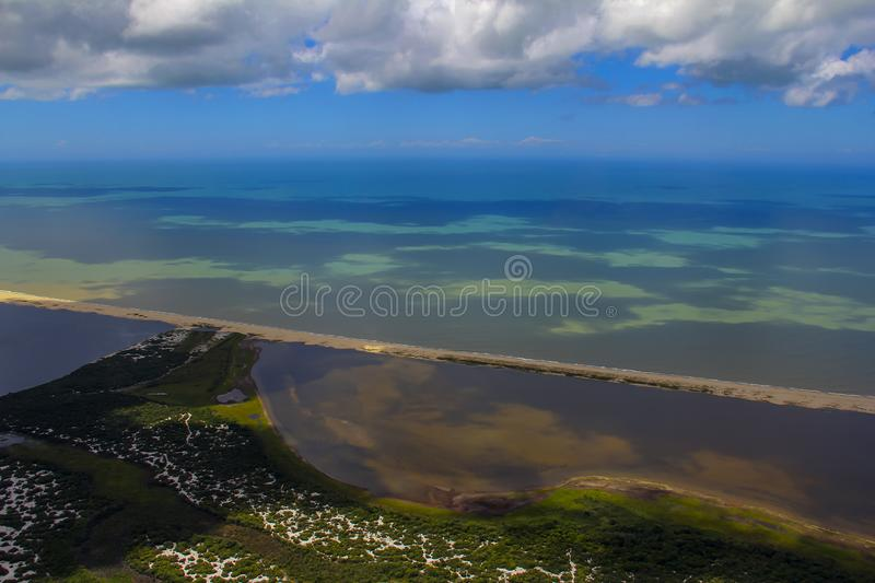 Beach paradise, wonderful beach, beach in the region of Arraial do Cabo, state of Rio de Janeiro, Brazil South America. MORE OPTIONS IN MY PORTFOLIO royalty free stock photo