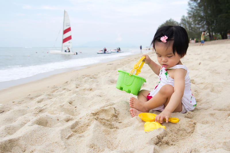Download Beach playtime stock photo. Image of babies, ethnicity - 24167208