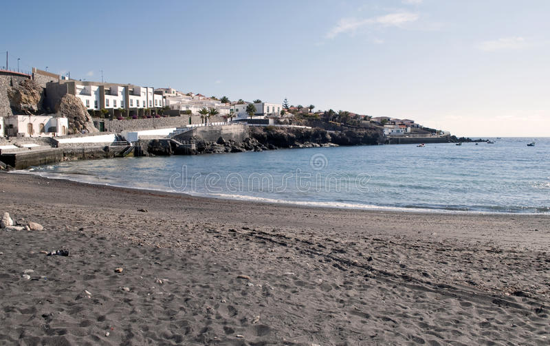 Beach of Poris de Abona royalty free stock photos