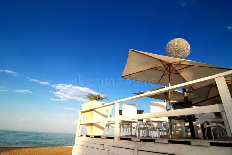 beach prętowa fotografia stock