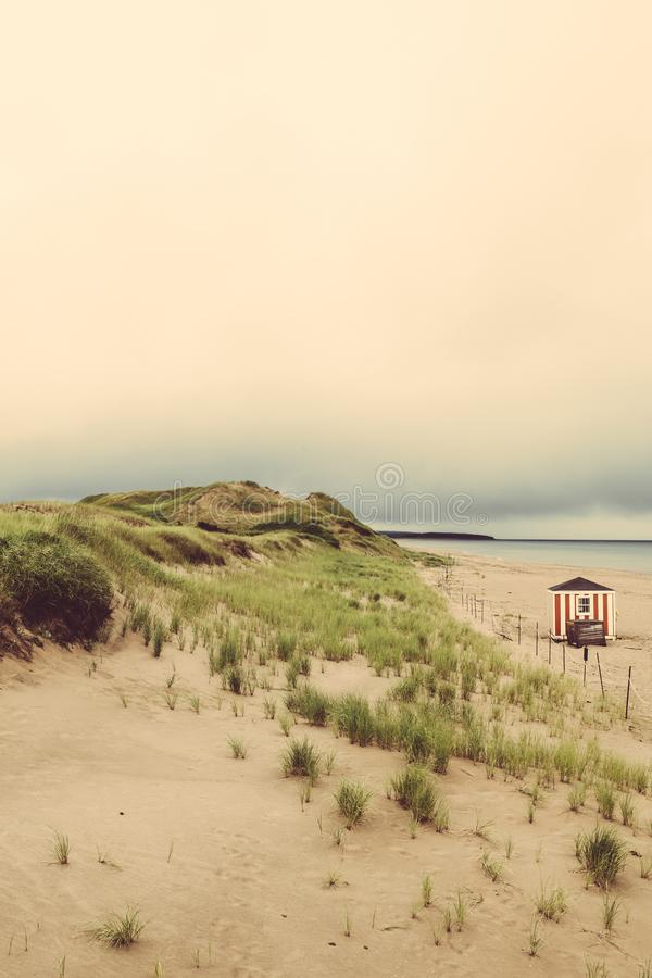 Beach in Prince Edward Island Canada stock photography