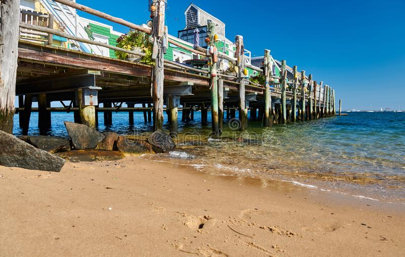 Beach at Provincetown, Cape Cod, Massachusetts. USA stock images
