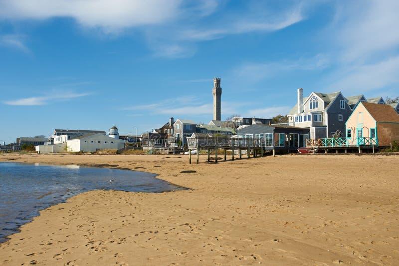 Beach at Provincetown, Cape Cod, Massachusetts. USA stock photo