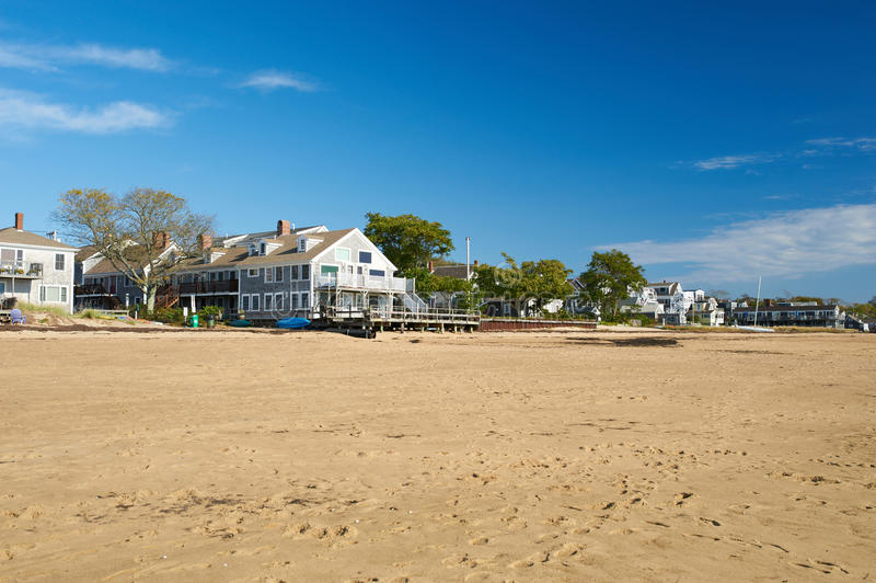 Beach at Provincetown, Cape Cod, Massachusetts. USA royalty free stock photos