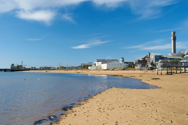 Beach at Provincetown, Cape Cod, Massachusetts. USA stock photography