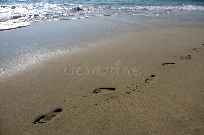 Beach of Puerto Escondido stock images