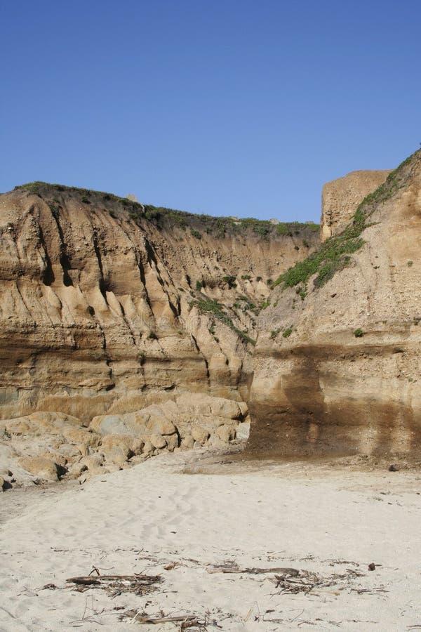 Beach Ravine Stock Images