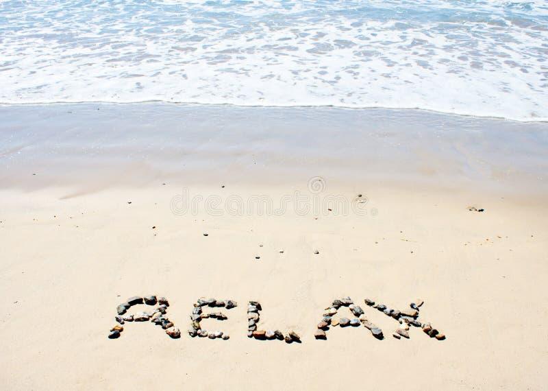 Beach Relax Stock Photography