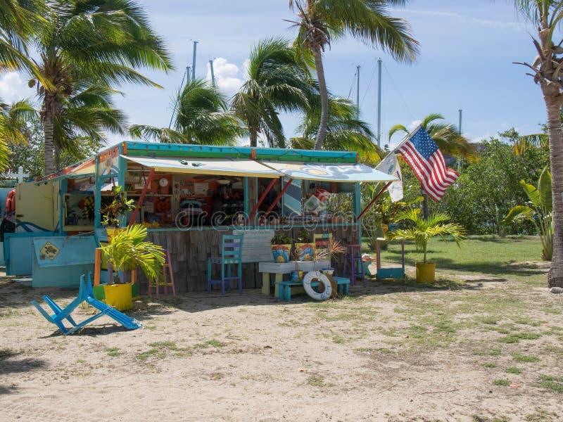 Beach Rental Shack royalty free stock photo