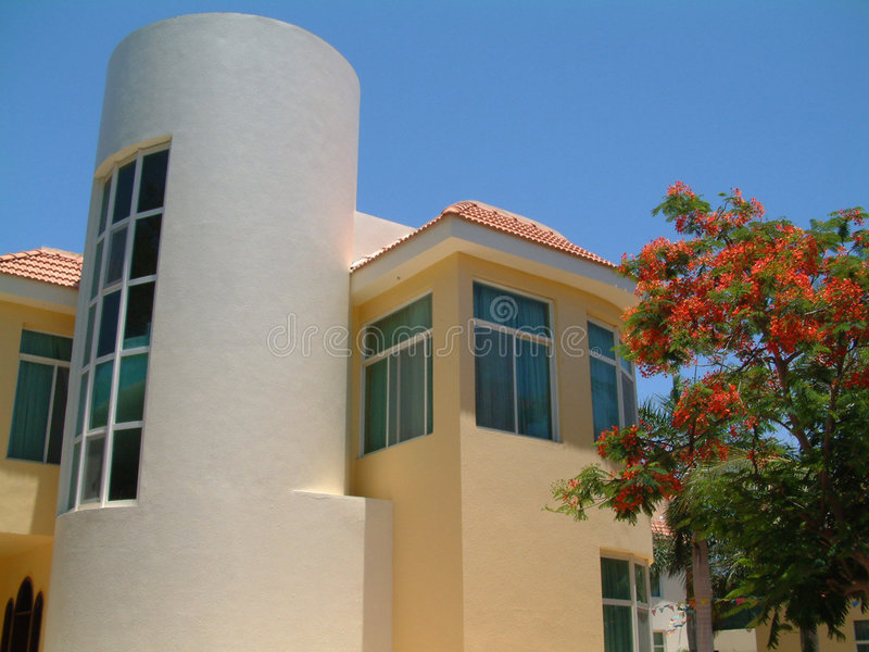 Download Beach Resort stock image. Image of house, dream, beach - 119675