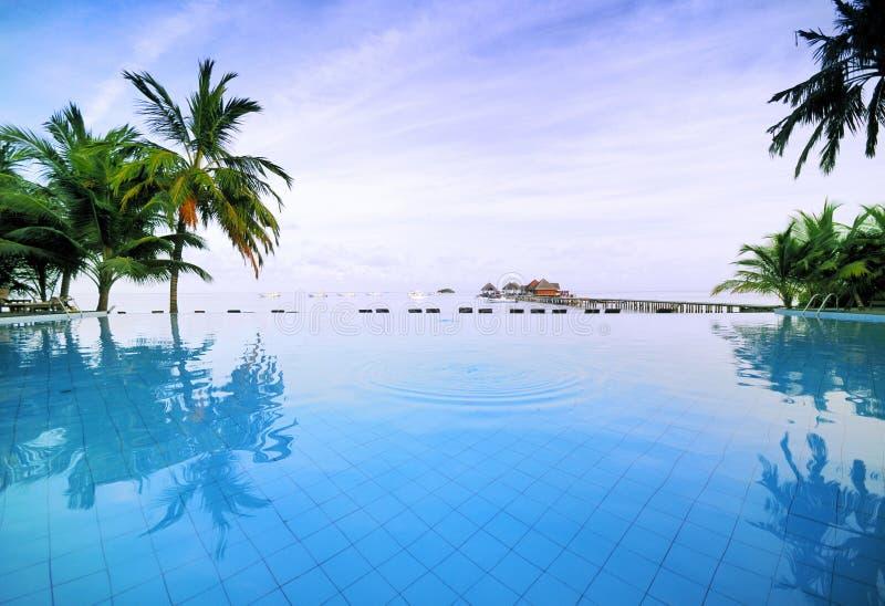 Beach Resorts * royalty free stock image