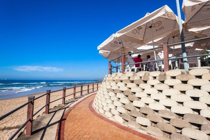 Download Beach Restuarant Umbrellas editorial stock photo. Image of umhlanga - 30986998
